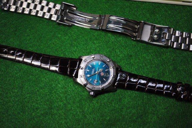 タグホイヤー 腕時計 電池交換 ベルト替え