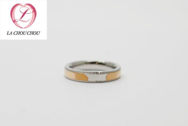 サージカルステンレス ステンレス リング 指輪 サイズ直し サイズダウン 石 デザイン ミル打ち コーティング 修理 アクセサリー