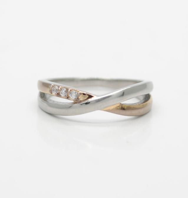 ステンレス指輪真鍮指輪サイズ直し