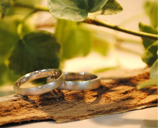 お客様が制作した指輪