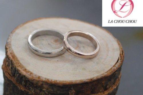 国内初のローズゴールド結婚指輪&プラチナリング