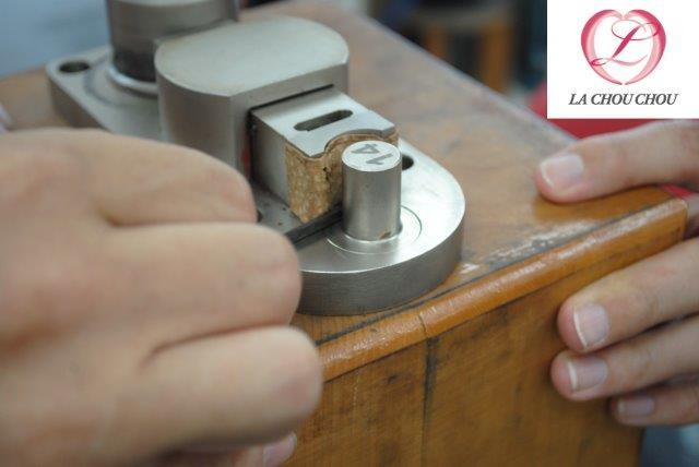 国内初のローズゴールド結婚指輪 手作り指輪