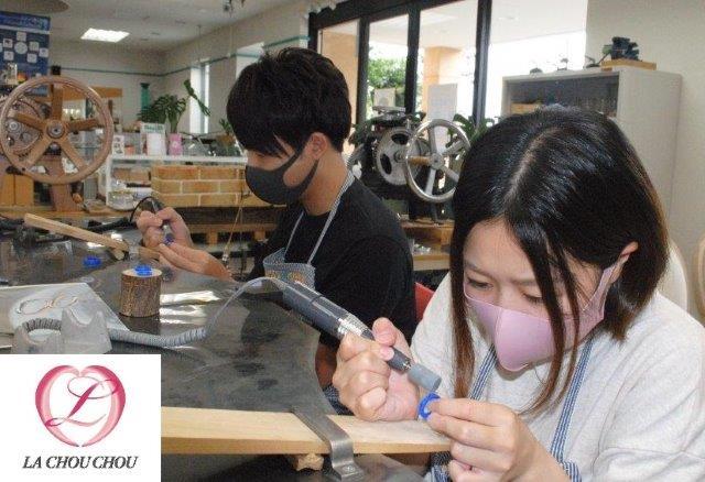 K18ブラックゴールドで作るマリッジリング手作り 大阪府