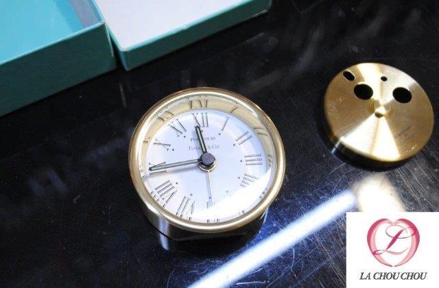 ティファニー TIFFANY GP ポートフォリオ クロック 置時計 修理 高崎