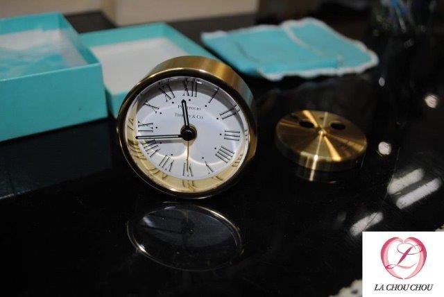 ティファニー TIFFANY GP ポートフォリオ クロック 置時計 オーバーホール